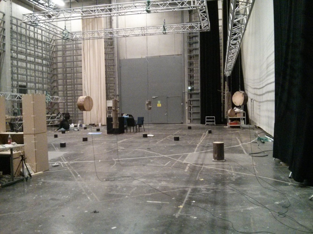 The big studio space for testing and building.